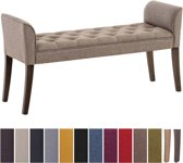 Clp Cleopatra - Chaise longue - Stof - taupe antiek donker