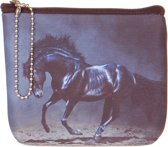 Kleine portemonnee paard-