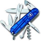 Victorinox Climber Zakmes 14 Functies - Transparant Blauw