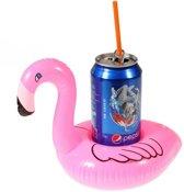 GadgetBay Flamingo Opblaasbare bekerhouder - Roze
