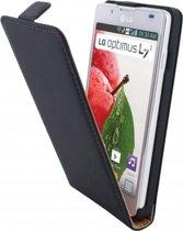 Mobiparts Premium Flip Case LG Optimus L7 II Black