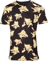 Pokémon - Heren allover print T-shirt - L