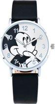 Mickey Mouse Horloge - Zwart