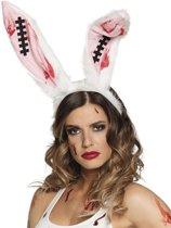 Bloederige Bunny Haarband