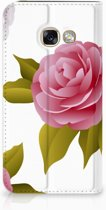Samsung Galaxy A3 2017 Uniek Standcase Hoesje Roses