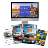 Auto Theorieboek Rijbewijs B Deluxe Compleet Geslaagd 2019 - Auto Theorieboek Rijbewijs B + Oefenboek + Online examen oefenen + Examentrainer + Samenvatting