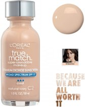 L'Oréal Paris True Match Super Blendable Makeup Foundation - C2 Natural Ivory