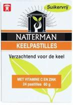 Natterman - 24 st - Keelpastilles