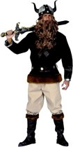 Piraat & Viking Kostuum | Viking Velkan Scandic Kostuum Man | XL | Carnaval kostuum | Verkleedkleding