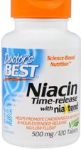 Real Niacine 500 mg (120 tabletten) - Doctor's Best
