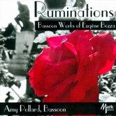 Ruminations: Bassoon Works of Eugene Bozza