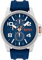 Boss Orange HO1550008 Detroit Horloge - Rubber - 48mm - Blauw