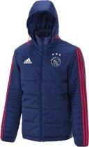 Ajax Winterjacket Uit 2017-2018 - Donkerblauw - Maat XL