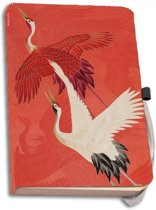 Adresboek A5  Woman Haori with Red and White Cranes, Collection Rijksmuseumn