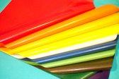 Vliegerpapier Folia Transparant DONKER BLAUW 70x100 cm 25 vel in een pak