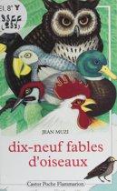 Dix-neuf fables d'oiseaux