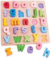 Bigjigs - Puzzel - Alfabet - Kleine letters
