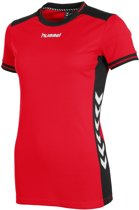 Hummel Lyon Dames Shirt - Voetbalshirts  - rood - L