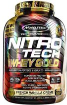 Nitro Tech Whey Gold 2510gr Vanille