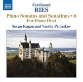 Susan / Vassilu Primakov Kagan - Ries; Piano Sonatas & Sonatinas Vol