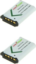 ChiliPower Sony NP-BX1 camera batterij - 2 stuks verpakking