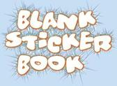 Blank Sticker Book