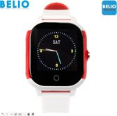 BELIO TOUCH Kind - Smartwatch - Wit/Rood