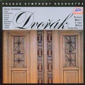 Dvorak: Mass, Te Deum, Biblical Songs / Smetacek, Czech PO