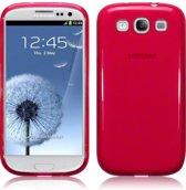 Telefoonhoesje.nl Rood gel hoesje Galaxy SIII - Geschikt voor: Samsung Galaxy S3