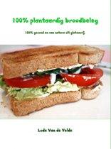Omslag van '100% plantaardig broodbeleg'