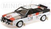 Audi Quattro Sieger Rally San Remo Nr# 14 Mouton/Pons 1-18 Minichamps Lim.300 Pieces