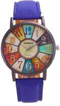 Sonsdo Horloge - Blauw in Horlogedoosje