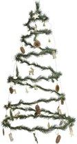 Lumineo Spiraal Kerstboom - 90 LED - 120cm - Incl. Decoratie