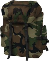 vidaXL Rugzak legerstijl 65 L camouflage