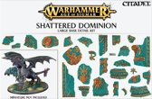 Age of Sigmar Shattered Dominion Large Base Detail Kit