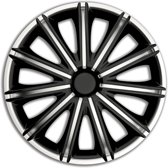 Autostyle Wieldoppen Nero 13 Inch Abs Zwart/zilver Set Van 4