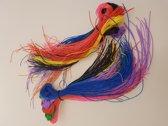 Scoubidou draden touwtjes - 400 stuks van 80 cm - 8 kleuren