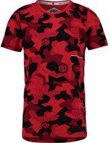 Vingino Jongens T-shirt - Flame Red - Maat 116