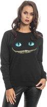 Alice in W. Smile Dames Sweater zwart - S