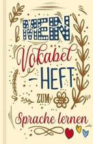 Vokabelbuch - Mein Vokabelheft zum Sprache lernen (Lernhilfe)