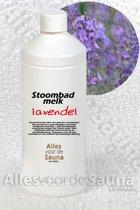 Stoombadmelk Lavendel 1 Liter