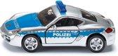 SIKU 1416 Duitse Politie Porsche