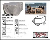 Raffles Covers RDS250200high 250 x 200 H: 95 cm taupe
