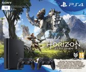Sony PlayStation 4 Slim console 1TB bundel + 2 Wireless Dualshock 4 controllers V2 + Horizon: Zero Dawn - PS4