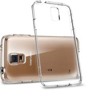 Samsung Galaxy S5 Neo SM-G903F / S5 Plus Ultra Dun Siliconen Gel TPU Hoesje / Case / Cover Transparant Naked Skin