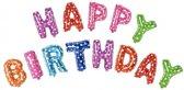 Folieballonnenset Happy Birthday