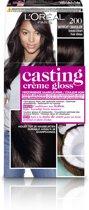 L'Oréal Paris Casting Crème Gloss Haarverf - 200 Midnight Chocolate
