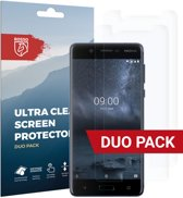 Rosso Nokia 5 Ultra Clear Screen Protector Duo Pack