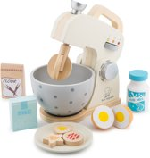 New Classic Toys - Speelgoed Mixer - Inclusief Accessoires - Wit