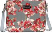 Signare Schoudertas Orchidee bloemen